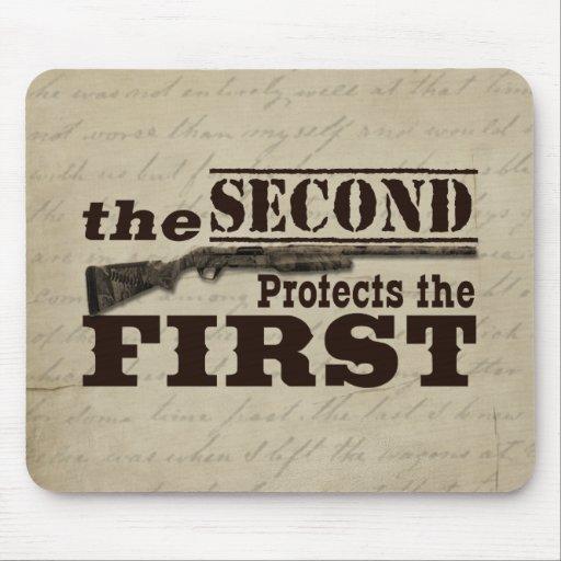Second Amendment Protects First Amendment Mousepads