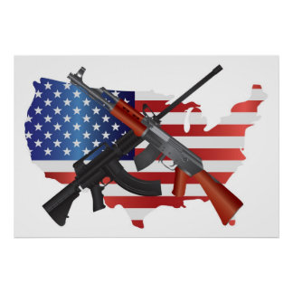 Second Amendment Rights to Bear Arms Poster
