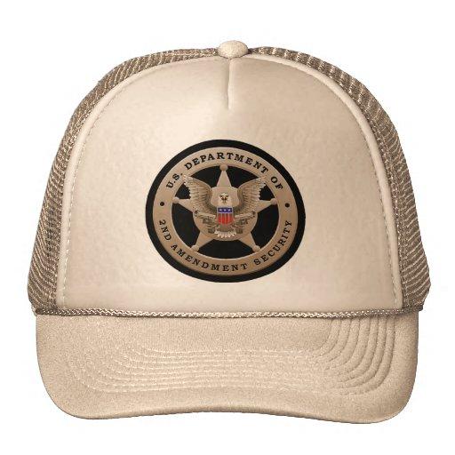 Second Amendment Security Hat
