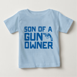 Second Amendment: Son of a gun owner Baby T-Shirt