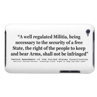 Second Amendment to the United States Constitution iPod Case-Mate Cases