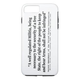 Second Amendment to the United States Constitution iPhone 7 Plus Case