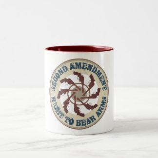 Second Amendment Two-Tone Mug