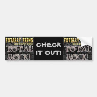 Second Baptist Totally Teen Branded Merchandise Bumper Sticker