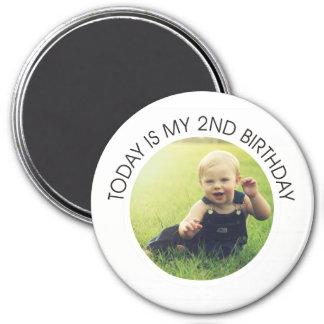Second Birthday Magnet