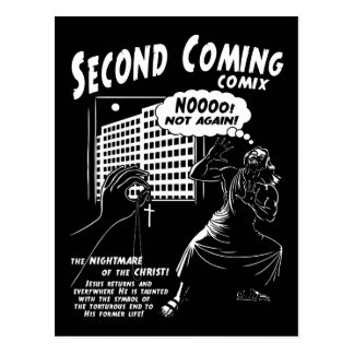 Second Coming Comix 1c Postcard