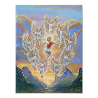 """""""Second Coming"""" from my original painting. Poster"""