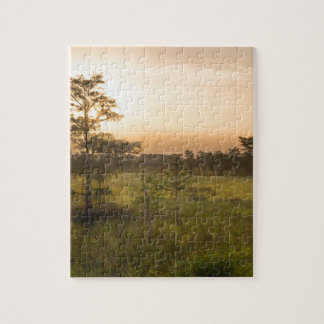 Second Dawn in Fakahatchee Strand Jigsaw Puzzle