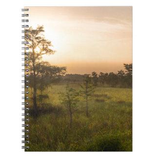 Second Dawn in Fakahatchee Strand Notebook