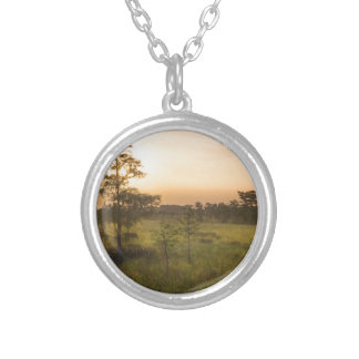 Second Dawn in Fakahatchee Strand Silver Plated Necklace