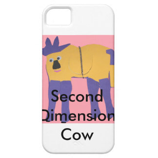 Second Dimension Cow iPhone 5 Case