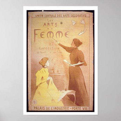 'Second Exhibition of Women's Art, Palais de L'Ind Print