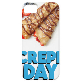 Second February - Crepe Day - Appreciation Day iPhone 5 Cover