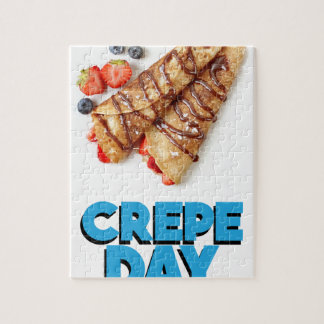 Second February - Crepe Day - Appreciation Day Jigsaw Puzzle
