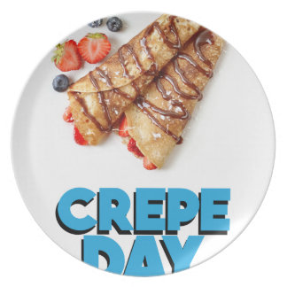 Second February - Crepe Day - Appreciation Day Plate