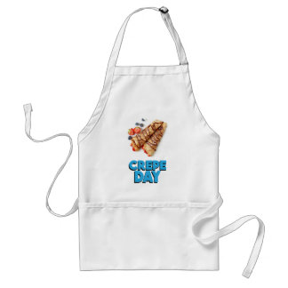 Second February - Crepe Day - Appreciation Day Standard Apron