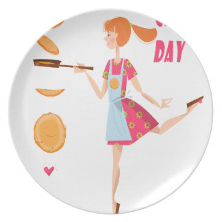 Second February - Crepe Day Plate
