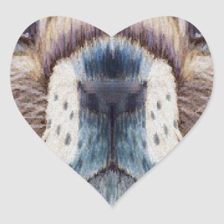 Second February - Marmot Day - Appreciation Day Heart Sticker