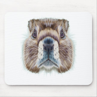 Second February - Marmot Day - Appreciation Day Mouse Pad
