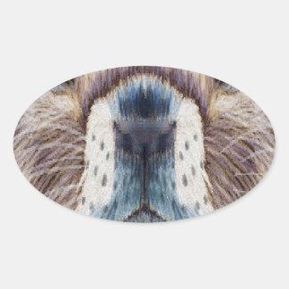 Second February - Marmot Day - Appreciation Day Oval Sticker
