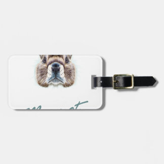Second February - Marmot Day Luggage Tag