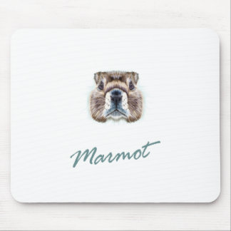 Second February - Marmot Day Mouse Pad