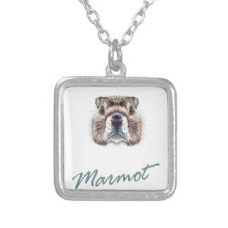 Second February - Marmot Day Silver Plated Necklace