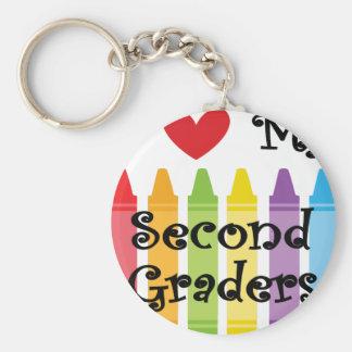 second grade teacher2 key ring