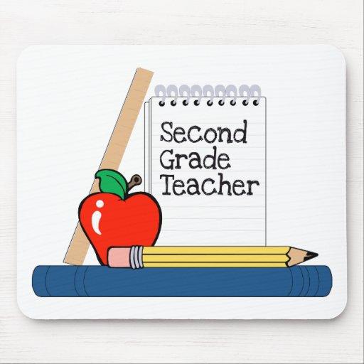 Second Grade Teacher (Notebook) Mouse Pads