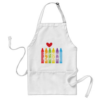 second grade teacher standard apron