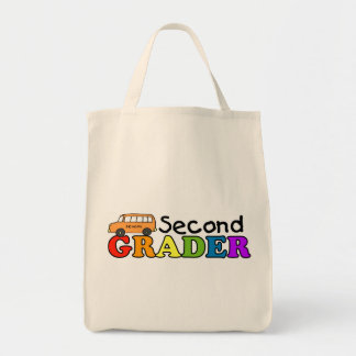 Second Grader Grocery Tote Bag