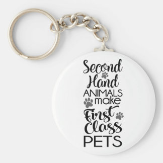 Second Hand Animals Key Ring