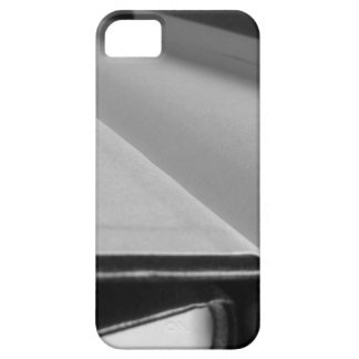 Second hand books with blank pages on a table iPhone 5 cover