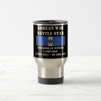 Second Korean Winter Campaign Stainless Steel Travel Mug