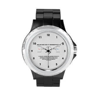 Second Law Of Thermodynamics (Physics) Work Wristwatch