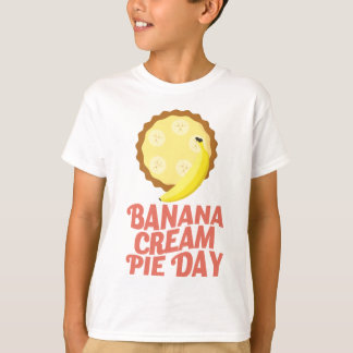 Second March - Banana Cream Pie Day T-Shirt