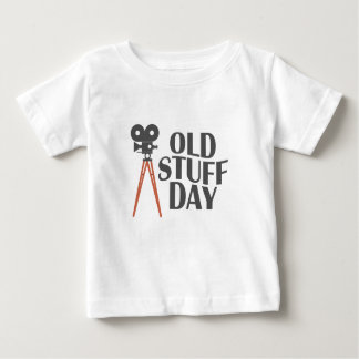 Second March - Old Stuff Day Baby T-Shirt