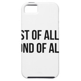 Second Of All iPhone 5 Case