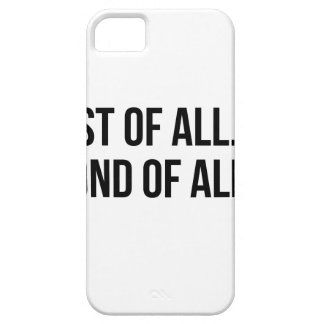 Second Of All iPhone 5 Cover