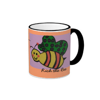 Second Rich the bee cup... Ringer Mug