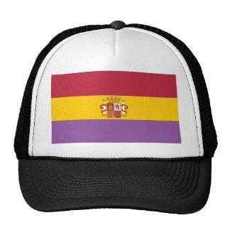 Second Spanish Republic Flag (1931-1939) Mesh Hat