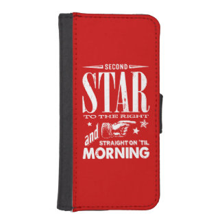 Second Star to the Right iPhone SE/5/5s Wallet Case