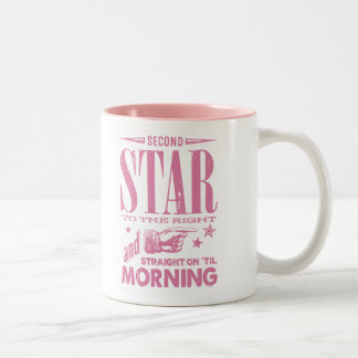 Second Star to the Right Two-Tone Coffee Mug