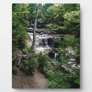 Secrect waterfall plaque