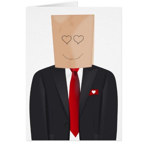 Secret Admirer Valentine's Day Greeting Card