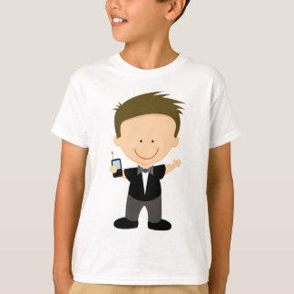 Secret Agent Spy Cute Kids Tee Shirt Gift