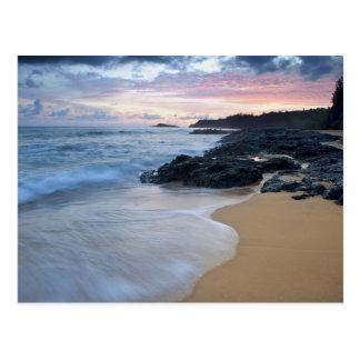 Secret Beach at dawn Postcard