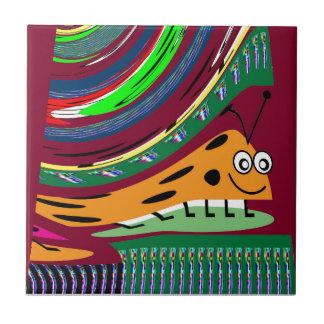 SECRET Bug Art KIDS love Lady Bug LADYbug Tiles