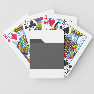 Secret File Bicycle Playing Cards