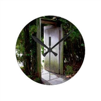 Secret Garden 1 Round Clock